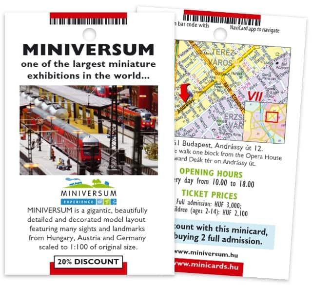 Miniversum minicard