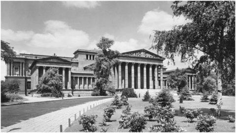 Museum of Fine Arts in 1936