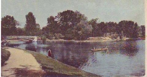 Városliget-anno-A Széchényi sziget