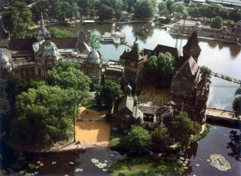 városliget-Vajdahunyad vár