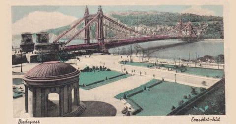 Erzsébet híd anno