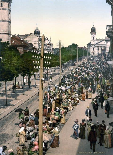 Debrecen fo utca 1908