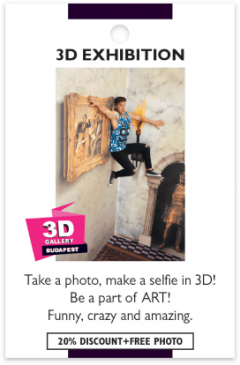 3D Gallery card front