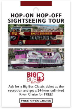 Big Bus Budapest card front