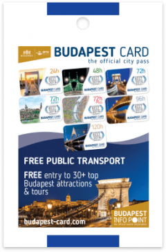 Budapest Card card front