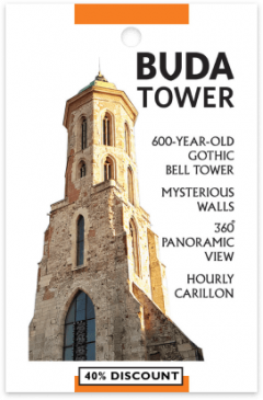 Buda Tower card front