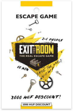 Exit the Room card front