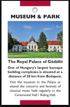 Gödöllő Royal Palace card front