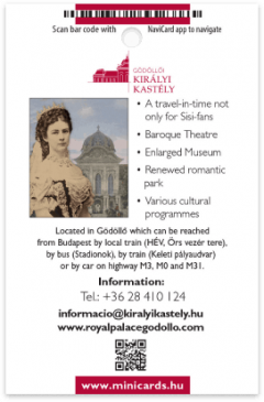 Gödöllő Royal Palace card back