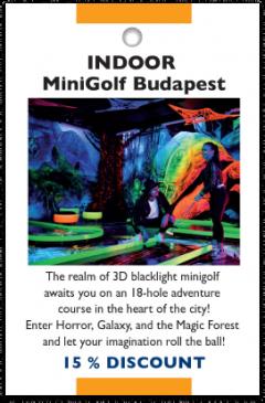 INDOOR MiniGolf card front