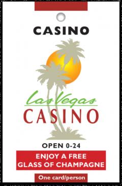 Las Vegas Casino card front