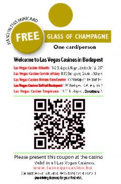 Las Vegas Casino kártya háta