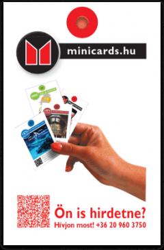 MINICARDS Magyarország kártya háta