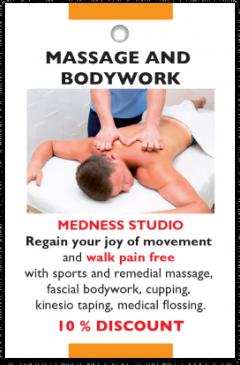 Medness Studio card front