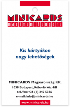MINICARDS Hungary card front