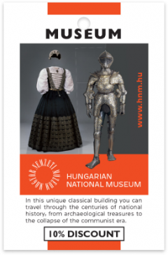 Hungarian National Museum card front