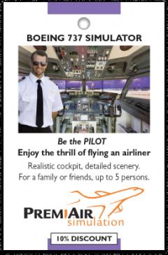 Premi Air Simulation card front