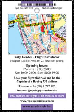 Premi Air Simulation card back