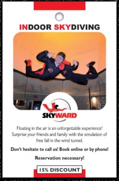 SkyWard card front