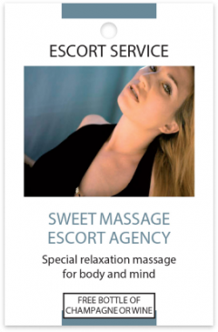 Sweet Massage card front